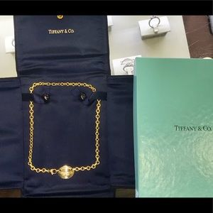 Authentic Tiffany & Co 18ky Necklace!